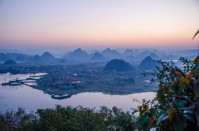 一个人的旅途之:从黔东南到普者黑,垻美,我是看风景的