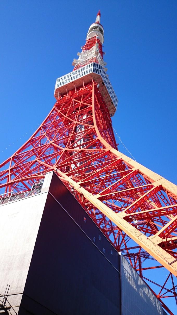 登上东京塔而放弃晴空塔