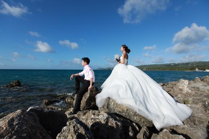 走,去塞班,结个婚(附教堂婚礼仪式过程,婚纱照拍摄,海量原片)