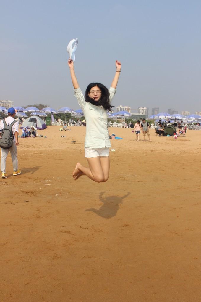青岛金沙滩