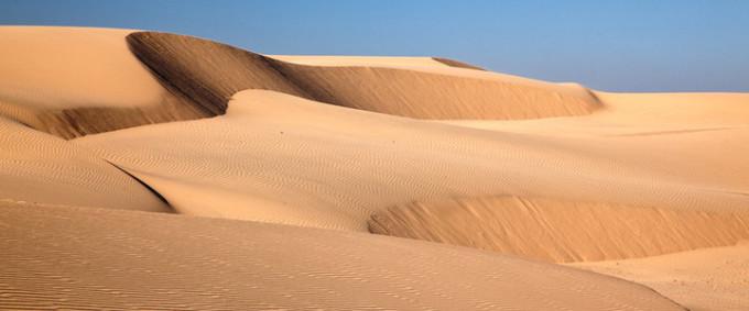 天漠自然风景区照片
