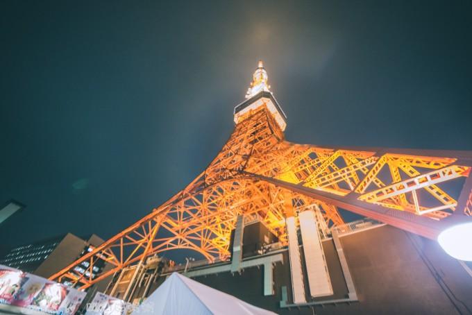 东京塔有大展望台和特别展望台