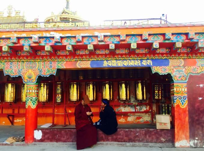 川西藏族房屋花纹