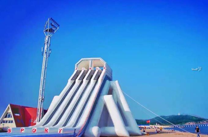 在阴雨的沈阳怀念海——葫芦岛313海上运动公园