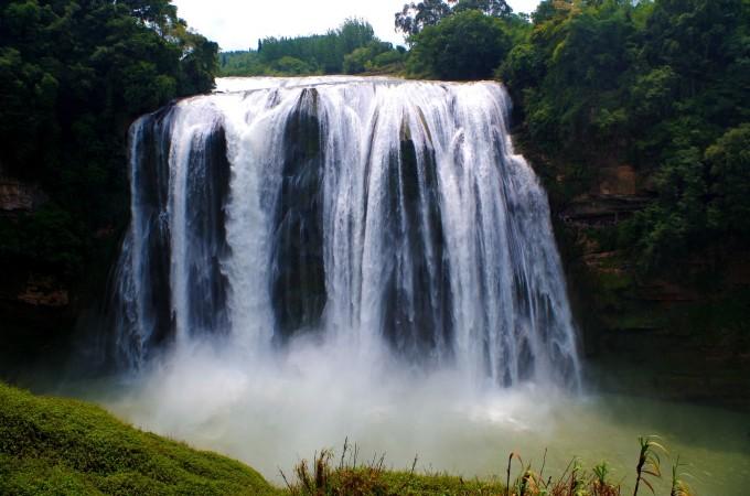 壁纸 风景 旅游 瀑布 山水 桌面 680_450
