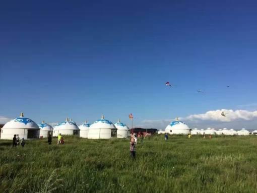 蒙古赤峰6月风景