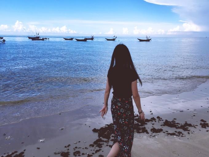 北海的夏天 海浪,沙滩,日出,日落,还有你.图片